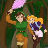 03. Light -- Link and Zelda by Tell-Me-Lies