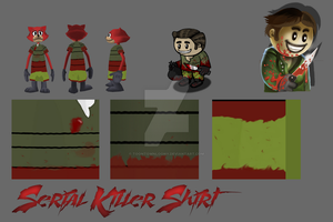 {TTOFF} Serial Killers' Shirt by toontownloony