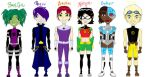 Teen Titans: Gender Bender by deviant-comic-artist