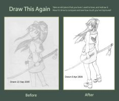 Draw this Again Challenge by Skwang