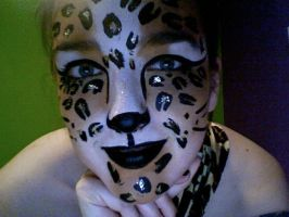 Leopard Face Paint... by lygicaphisalogue