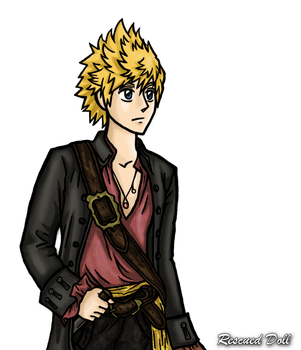 Roxas Turner by Rescued-Doll
