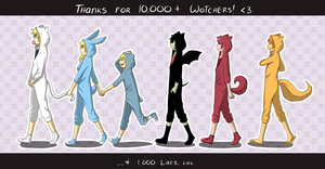 Thanks for 10K+ watchers! by Katkat-Tan