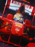Massa F60 by ferrariartist