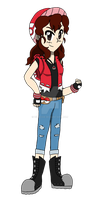 Pkmn Trainer Cole Would Like to Battle! by ignessie