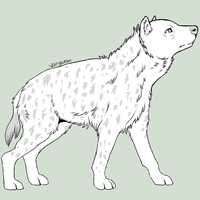 Spotted Hyena by iMoiety