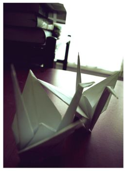 Paper Crane by NoTee