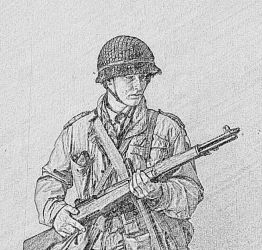 29th Infantry division soldier 1 by Stefan-bouwhuis