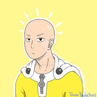 Caped Baldy by TensaiProductionz
