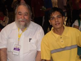 with Dr. John A. Lent by force2reckon