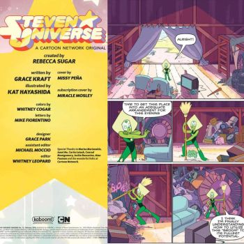 Steven Universe Issue 13 by Yuroboros