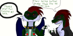 Ask the Raptor Rogues # 16 by thedragonlover95