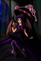 Gothic Lolita Violet by reverse-will