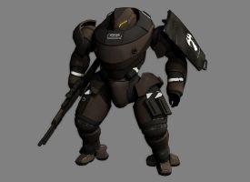 Mechanized Infantry v1.0 by Ashed-Dreams