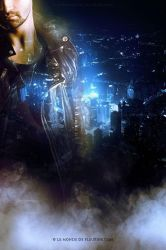 ghost in the city by Fleurine-Retore