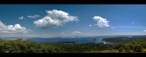 Heaven Over Maine by IngoSchobert