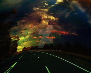 The lost highway by ceeveem