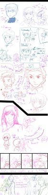 APH- sketch dump of doom D: by kyupen
