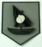 Game of Thrones Quilling Sigil Art House Seaworth by wholedwarf