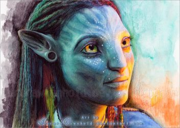Neytiri by RoryonaRainbow