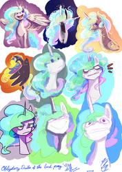 Obligatory experimental Doodles ft. the best pony by hehm