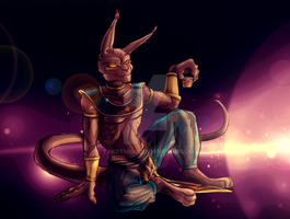 Beerus by Takethra