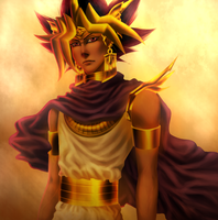 Yami Yugi - The Pharaoh Atem by AngelLust155