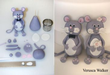 Mouse Figurine by Verusca
