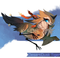 Desertdusk Tiger by NebNomMothership