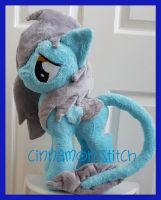 mlp plushie commission LUPUS by CINNAMON-STITCH