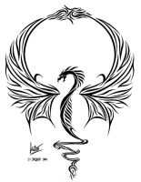 ultimate dragon tattoo... by Milo-Wildcat
