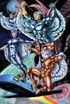 Silverhawks Colors Done by BDixonarts