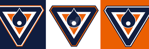 Logo Edm Oilers by Snow-Monster