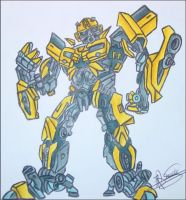 Bumble bee Caricature complete by RyGuy52