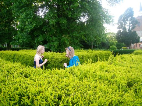 In The Maze by beckie0