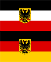 Flags of Greater Germany Comparison by Lehnaru