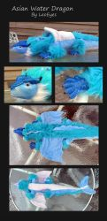 Asian Water Dragon Doll by LeoEyes