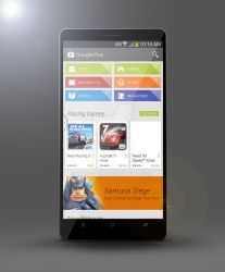 Android Phone Mock-up by 87scope
