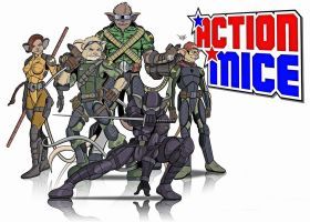 Action Mice Alpha Team by stourangeau