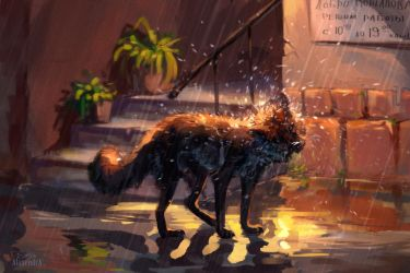 It is a little rainy by AlaxendrA