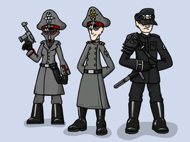 Officers if the Imperium of Death by The-General-Moe