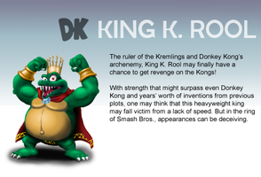 Smash Profile - King K. Rool by Ultimatethinker721