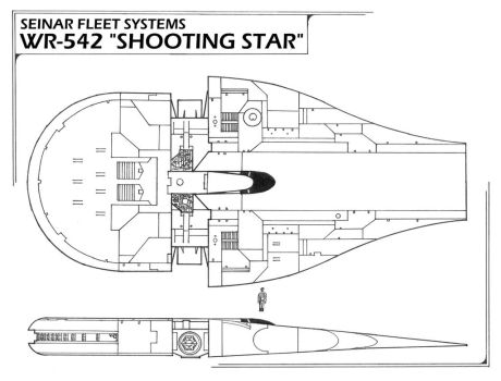 Seinar Fleet Systems WR-542 Shooting Star by MillenniumFalsehood