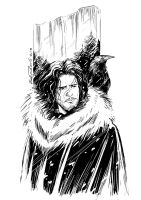 Jon Snow by Robbertopoli