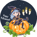 Halloween 2018 [Click to view animation] by Chidorihy
