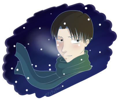Winter Levi by AlealiaKitsune