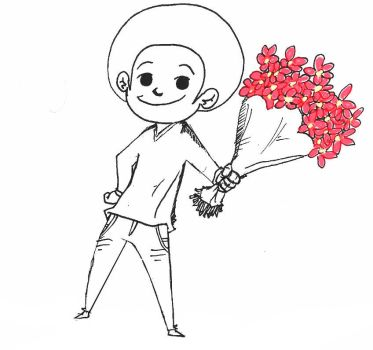 I brought you some FLOWERS by SketchPkwy
