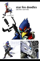 Falco and Wolf by Pro-val