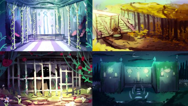 Background concepts by Albaharu