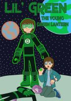 Lil' Green the Young Green Lantern by MCsaurus
